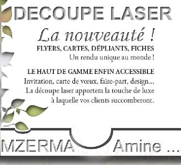 La découpe laser …