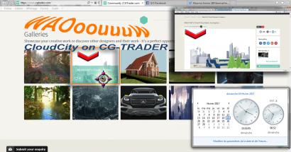 La Cloud City fait son entrée sur CG-Trader !